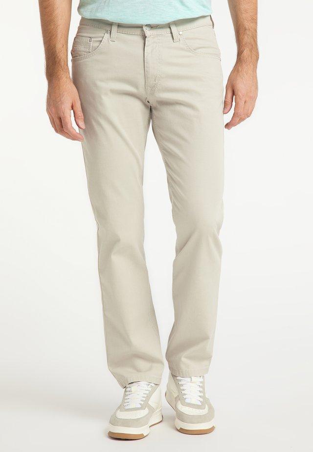 RANDO AUTHENTIC LINE - Straight leg jeans - beige