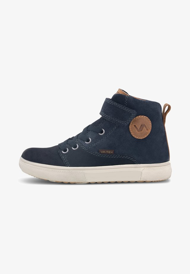 High-top trainers - blau