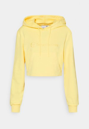 ALINA CROPPED HODDIE - Sweatshirt - gold finch