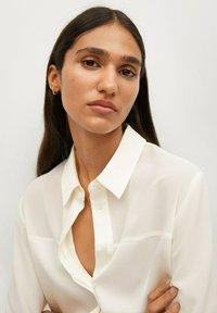 Mango - BIMA - Button-down blouse - ecru - 4