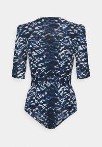 Diane von Furstenberg - ABBIE BODYSUIT - Print T-shirt - blue - 1