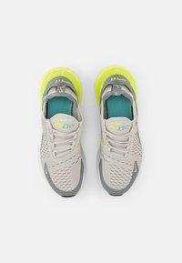 Nike Sportswear - NIKE AIR MAX 270 - Sneakers laag - light bone/black-volt-particle grey - 3