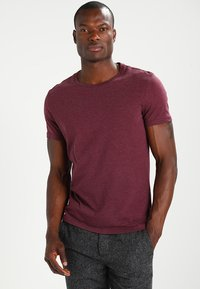 Pier One - T-shirt - bas - bordeaux - 0