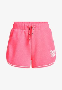 WE Fashion - MET GLITTEROPDRUK - Shorts - bright pink - 3