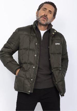 Down jacket - army kaki