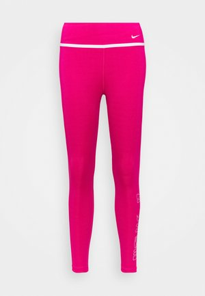 ONE 7/8 - Tights - fireberry/white