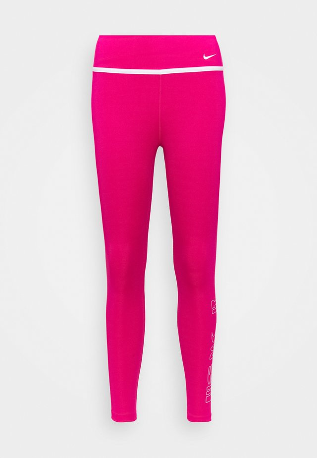 ONE 7/8 - Leggings - fireberry/white