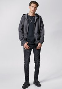 Tigha - RUVEN - Zip-up hoodie - vintage stone grey - 1