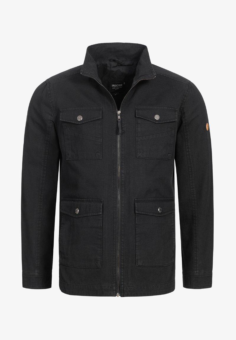 INDICODE JEANS - Summer jacket - black