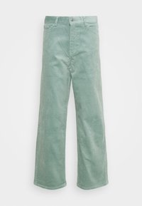 Weekday - LASHES TROUSERS - Pantaloni - petrol - 5