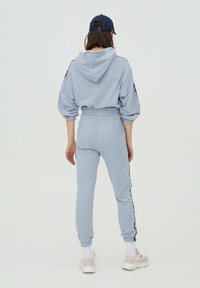 PULL&BEAR - Tracksuit bottoms - light blue - 2