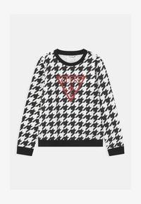 Guess - JUNIOR ACTIVE - Sweatshirt - black/white - 0