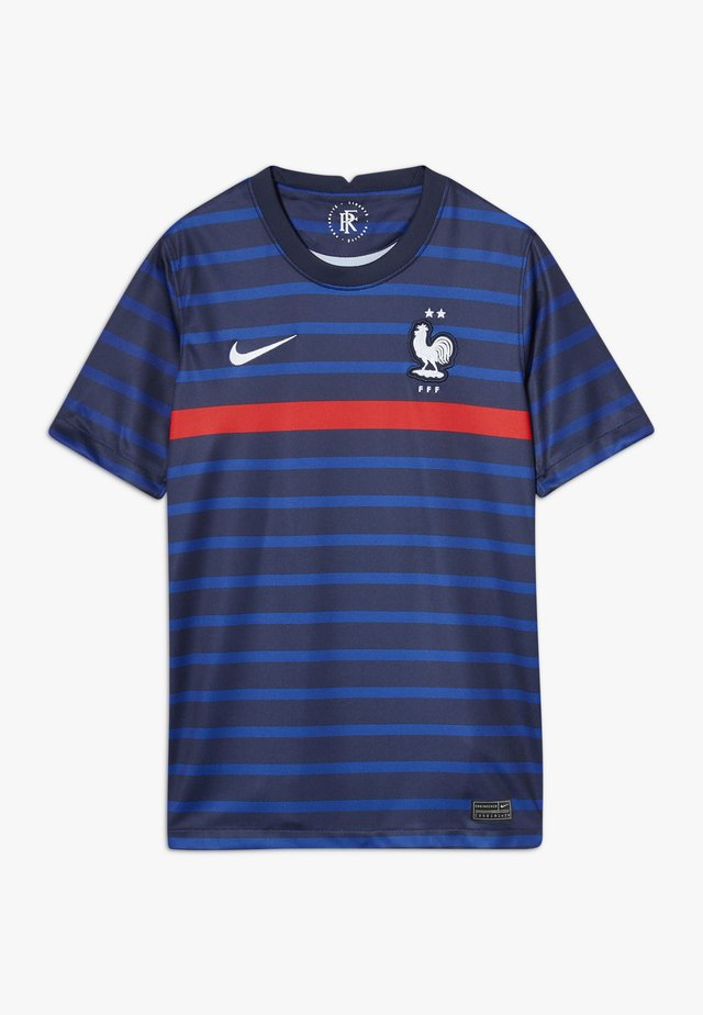 FRANKREICH FFF Y NK BRT STAD SS HM - Article de supporter - blackened blue/white