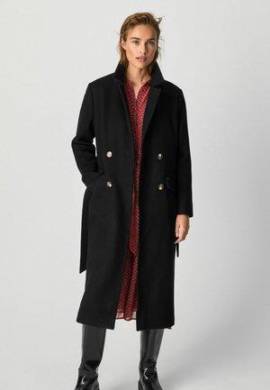 MICA - Classic coat - black