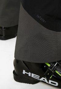 Norrøna - LOFOTEN GORE-TEX INSULATED PANTS - Spodnie narciarskie - caviar - 5