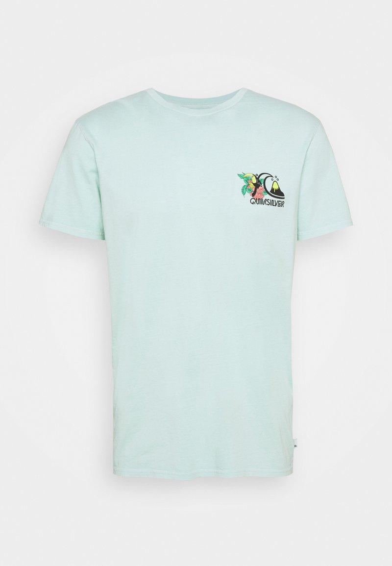Quiksilver - INFORMAL DISCO - T-shirt con stampa - blue tint