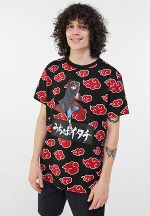MIT NARUTO - T-shirt con stampa - black