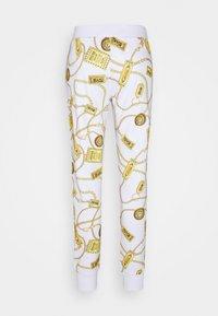 Versace Jeans Couture - Spodnie treningowe - white - 5