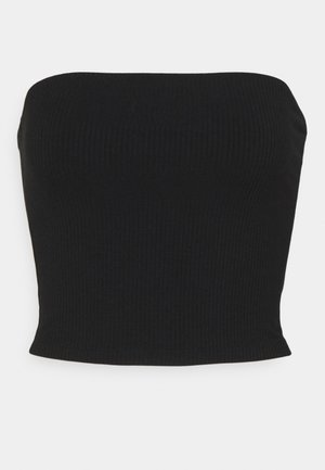BASIC TUBE SOLID - Top - black
