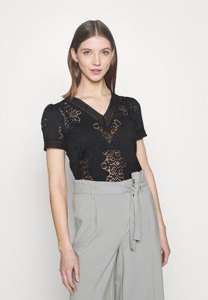 DUPLEX - Print T-shirt - noir