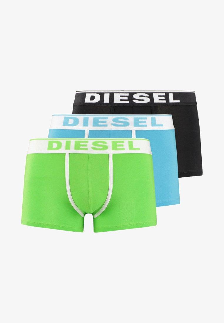Diesel - DAMIEN 3 PACK - Pants - light green/light blue/black