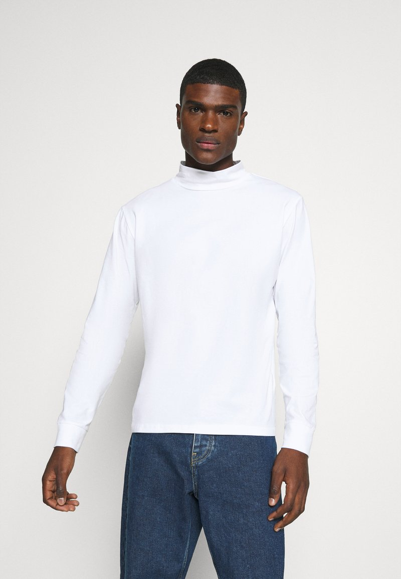 Weekday - DORIAN TURTLENECK - Long sleeved top - white