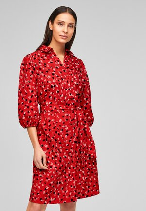 Robe chemise - red aop