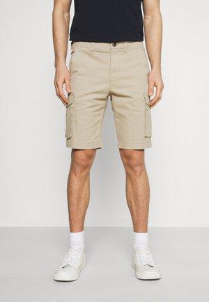 SLHAIDEN CARGO - Shorts - white pepper