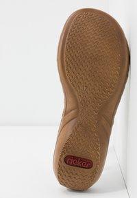 Rieker - Pantolette flach - weiß - 5