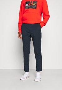 Lindbergh - SUPERFLEX PANTS - Trousers - dark blue - 0
