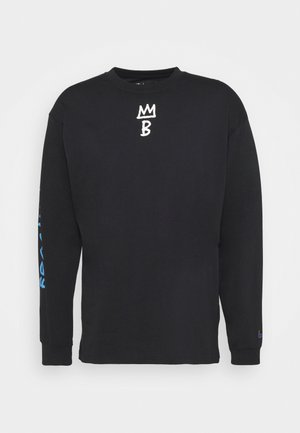 NBA BROOKLYN NETS CITY EDITION LONG SLEEVE - Equipación de clubes - black