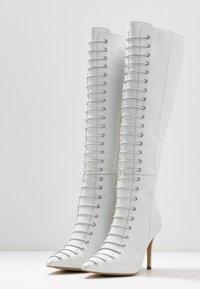KIOMI - Bottes à lacets - white - 4