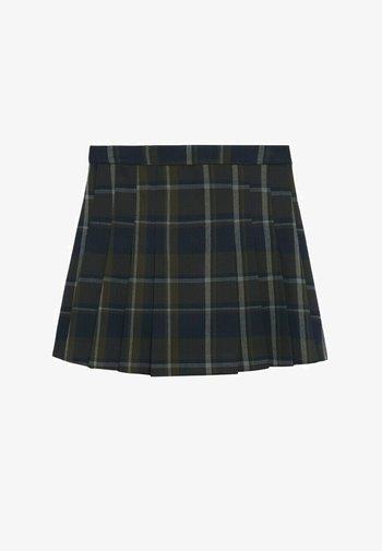 Pleated skirt - vert
