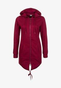 Urban Classics - Zip-up hoodie - red - 0