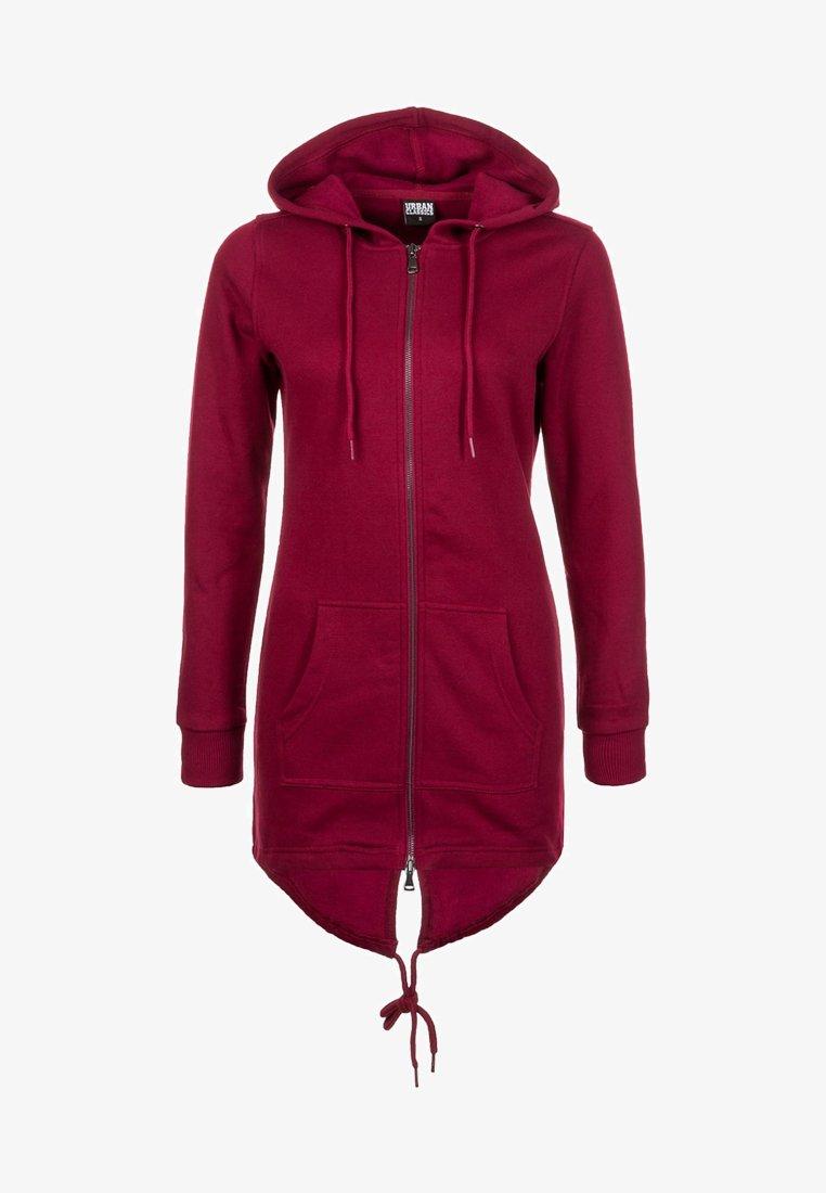 Urban Classics - Zip-up hoodie - red