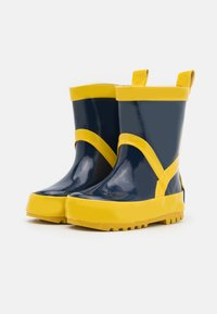 Playshoes - UNISEX - Wellies - marine/gelb - 1