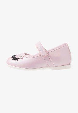 Ankle strap ballet pumps - rosa