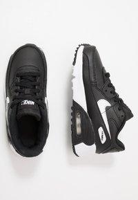 Nike Sportswear - AIR MAX 90 UNISEX - Trainers - black/white - 0