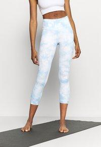 Cotton On Body - LOVE YOU A LATTE 7/8 - Punčochy - baby blue - 0