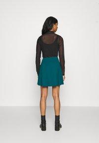Even&Odd - A-line skirt - teal - 2