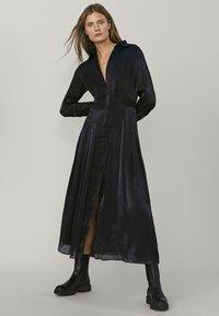 Massimo Dutti - Maxi dress - dark grey - 2