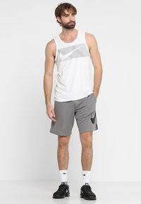 Nike Performance - DRY SHORT - Sports shorts - gunsmoke/black - 1