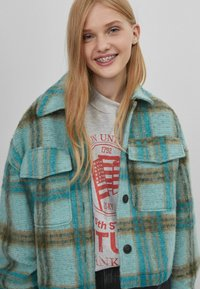 Bershka - Summer jacket - turquoise - 3