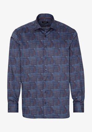 COMFORT FIT - Overhemd - marine/rot/blau