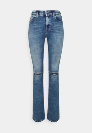 D-SLANDY - Jeansy Bootcut - light blue