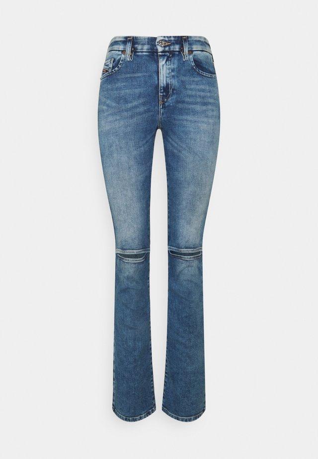 D-SLANDY - Jeans bootcut - light blue