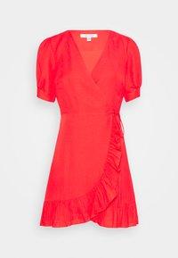 Forever New - BOSTON WRAP SKATER DRESS - Robe d'été - red - 4