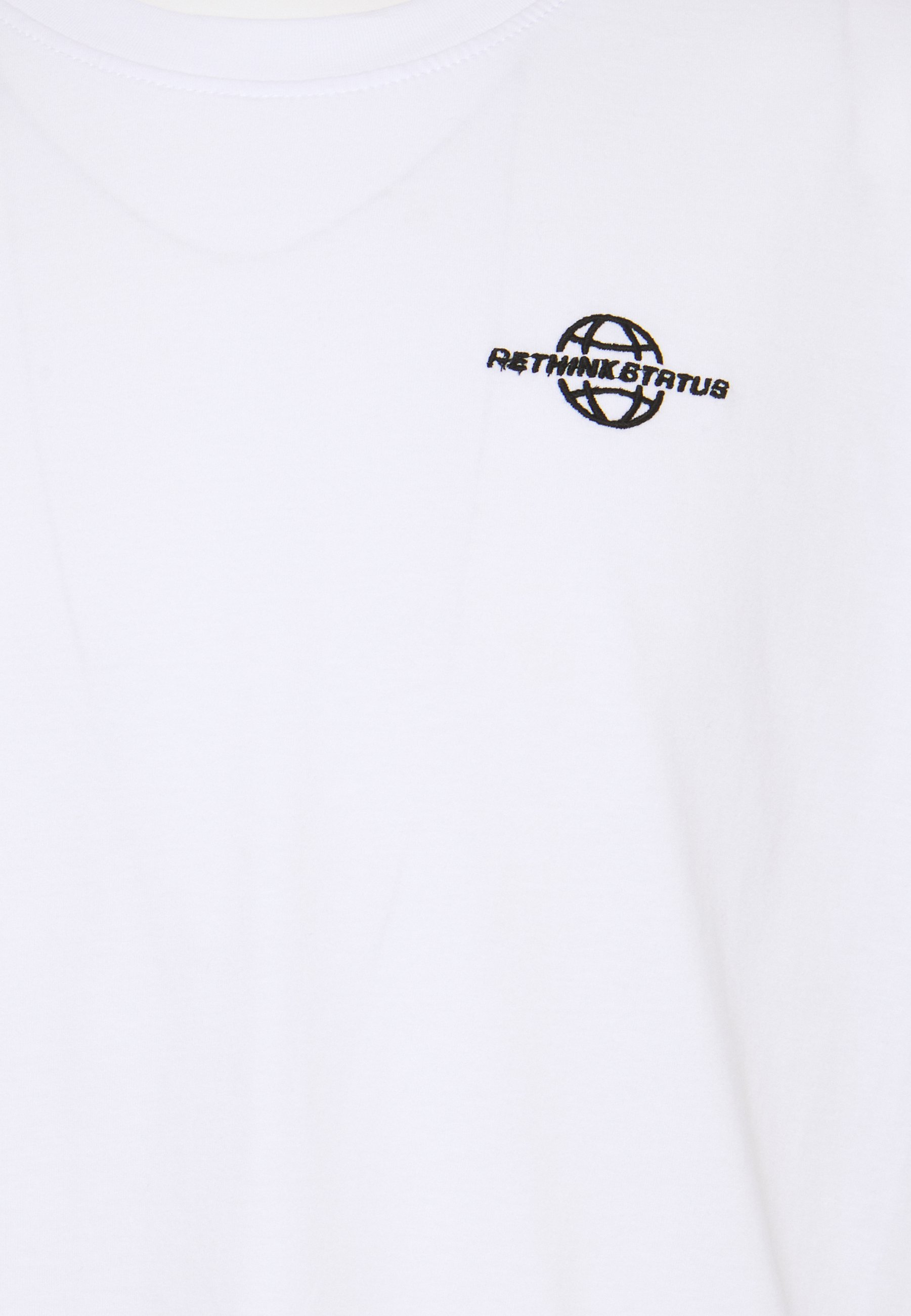 RETHINK Status Print T-shirt - white pG4dU
