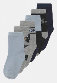 Name it - NKMBALDER 6 PACK - Socks - gray mist - 0