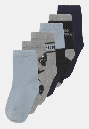 NKMBALDER 6 PACK - Socks - gray mist